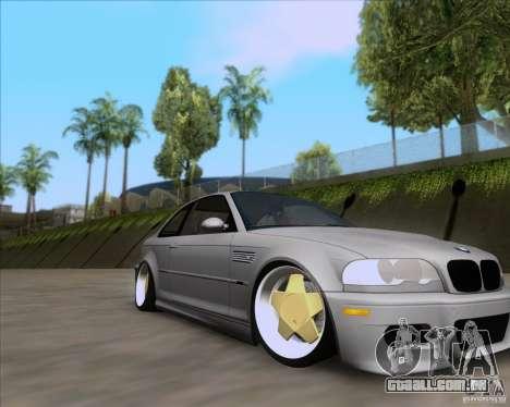 BMW 3-er E46 Dope para GTA San Andreas vista direita