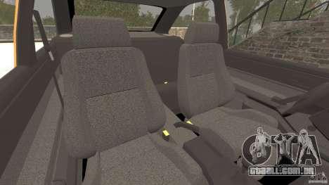 Ford Escort L 1994 Custom para GTA 4 vista interior