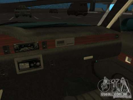HD Police from GTA 3 para GTA San Andreas vista superior