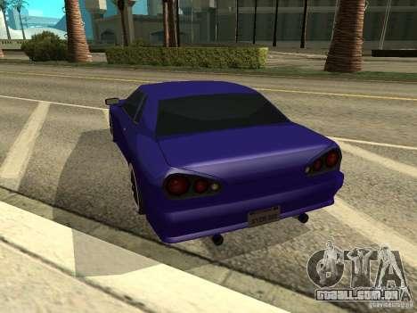 Elegy by W1nston4iK para GTA San Andreas esquerda vista