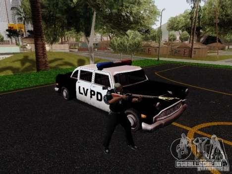 Cabbie Police LV para GTA San Andreas vista direita