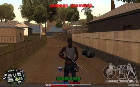 Cleo HUD by Cameron Rosewood V1.0 para GTA San Andreas segunda tela