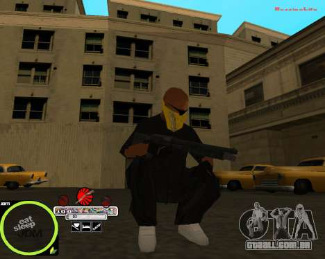 Weapon Pack by Alberto para GTA San Andreas por diante tela