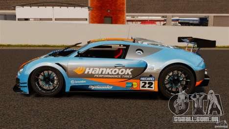 Bugatti Veyron 16.4 Body Kit Final para GTA 4 esquerda vista