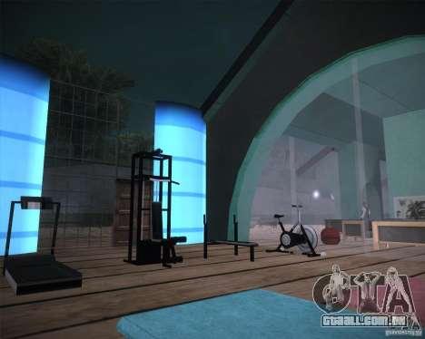 Beach House para GTA San Andreas por diante tela