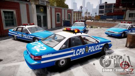 Chevrolet Caprice 1991 LCPD para GTA 4