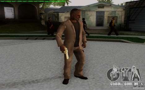 Raul Menendez 2025 para GTA San Andreas segunda tela