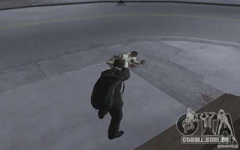 Animando o corpo de GTA IV para GTA San Andreas por diante tela