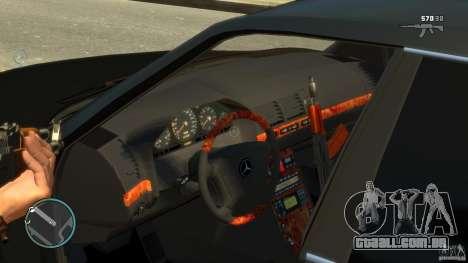 Mercedes-Benz S600 para GTA 4 vista interior