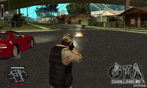 HUD for SAMP para GTA San Andreas terceira tela