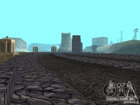 A nova barragem para GTA San Andreas segunda tela