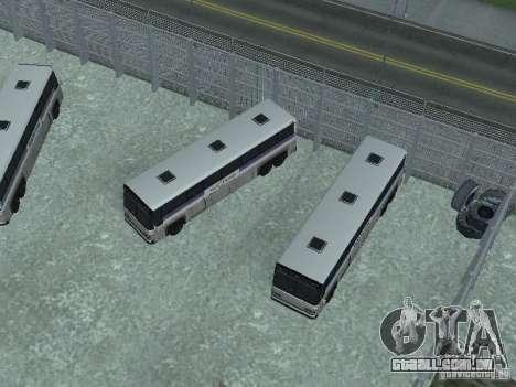 Ônibus Parque versão v 1.2 para GTA San Andreas sexta tela