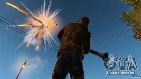 O dano real de braços para GTA 4 terceira tela