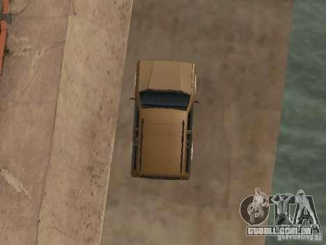 Nova Landstalker para GTA San Andreas vista interior