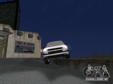 Chevorlet Silverado 2000 para o motor de GTA San Andreas