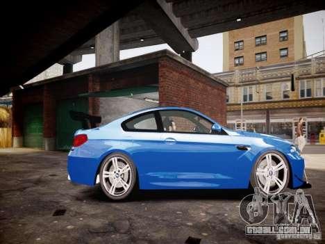 BMW M6 2013 para GTA 4 esquerda vista