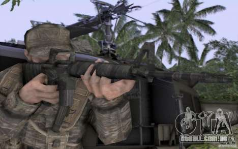 M16A1 Vietnam war para GTA San Andreas