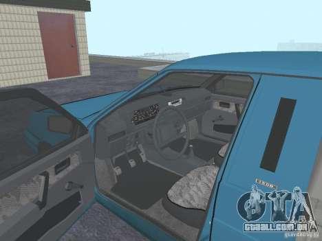 2347 de IPOS para GTA San Andreas vista traseira