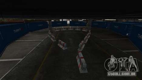 Drift-pista no aeroporto para GTA 4 sexto tela