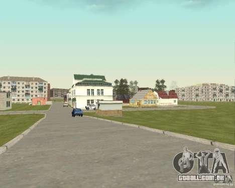Novo campo de distrito dos sonhos para GTA San Andreas quinto tela