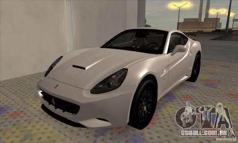 Ferrari California Hamann para GTA San Andreas