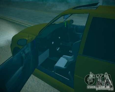 Opel Vectra B para GTA San Andreas vista superior