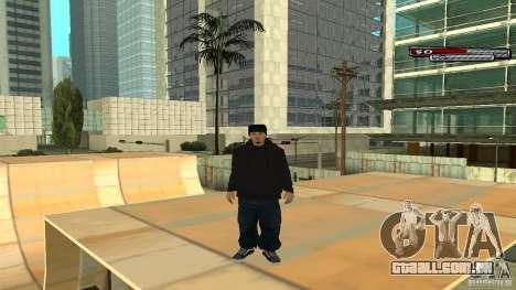 Trialista HD para GTA San Andreas quinto tela