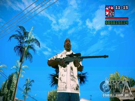 New Weapon Pack para GTA San Andreas terceira tela