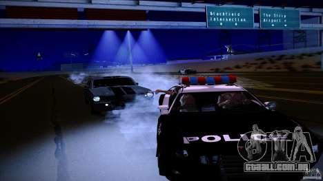 Polícia atira fora da máquina para GTA San Andreas segunda tela