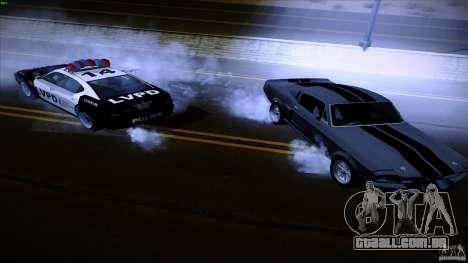 Polícia atira fora da máquina para GTA San Andreas