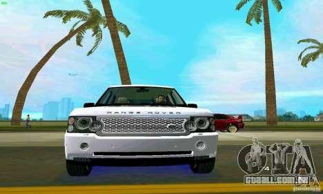 Land Rover Range Rover Supercharged 2008 para GTA Vice City interior