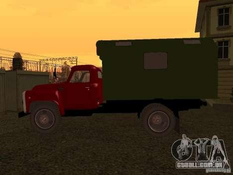 GAZ 52 para GTA San Andreas traseira esquerda vista