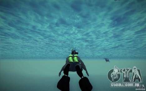 Tanque de mergulho para GTA San Andreas quinto tela