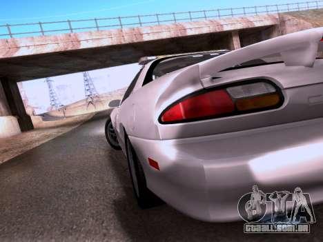 Chevrolet Camaro 2002 California Highway Patrol para GTA San Andreas vista interior