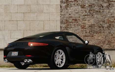 Porsche Cayman S 2006 EPM para GTA 4 traseira esquerda vista