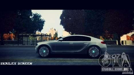 Bugatti Galibier 16C (Bug fix) para GTA 4 traseira esquerda vista