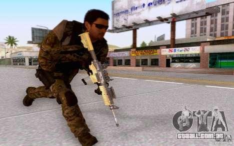David Mason para GTA San Andreas sexta tela
