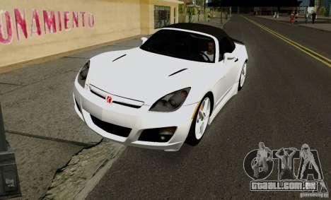 Saturn Sky Red Line 2007 v1.0 para GTA San Andreas