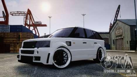 Range Rover Sport RR SCHEARZ para GTA 4