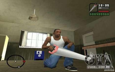 Serra para GTA San Andreas terceira tela