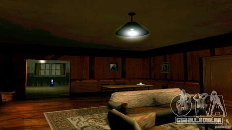 Novas texturas para a casa de CJ para GTA San Andreas terceira tela