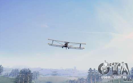 Sky Box V1.0 para GTA San Andreas segunda tela