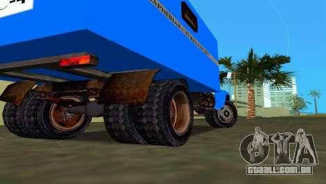 ZIL 130 para GTA Vice City vista traseira esquerda