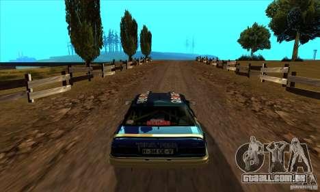 Ford Sierra RS500 Cosworth RallySport para GTA San Andreas vista direita
