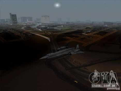 YF-12A para GTA San Andreas esquerda vista