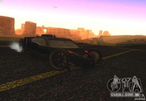 Guarda para GTA San Andreas vista direita