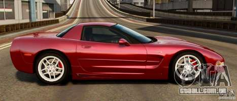 Chevrolet Corvette C5 2001 EPM para GTA 4 esquerda vista