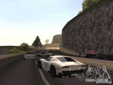 Lamborghini Miura LP670 para GTA San Andreas esquerda vista