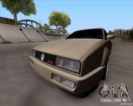 Volkswagen Corrado VR6 1995 para GTA San Andreas esquerda vista