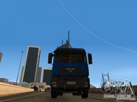 MAN TGA 28 430 PALIFT para GTA San Andreas vista direita